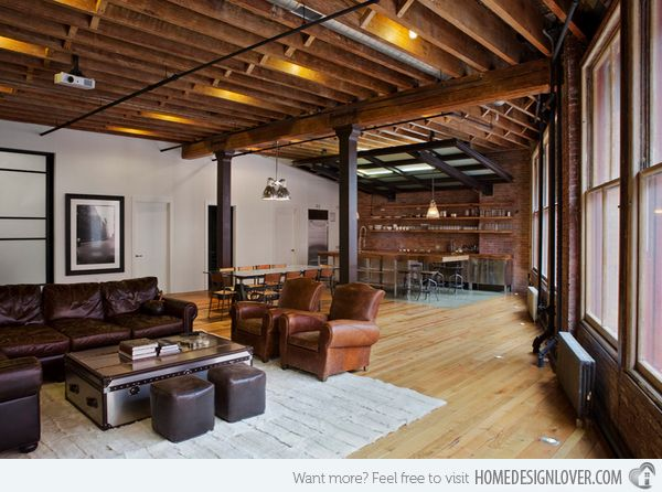 15 best Industrial Living Room images on Pinterest Industrial - industrial living room ideas