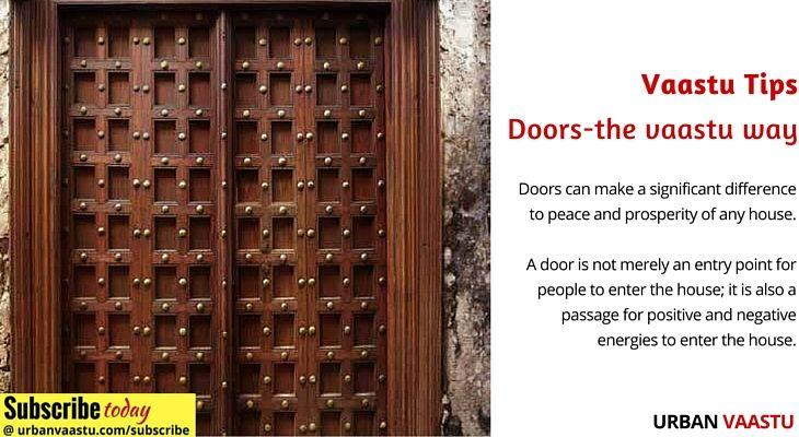 Vaastu tips – #Doors-the #vaastu way
