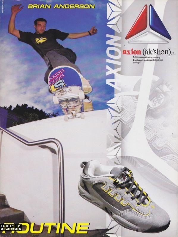Axion Footwear - Brian Anderson Ad (1999)