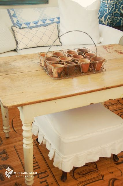farm table & cabinet painting prep tips