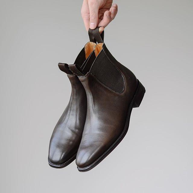 04670844981  myrqvist.se  herrstil chelsea boot. I love the wholecut design and elegant