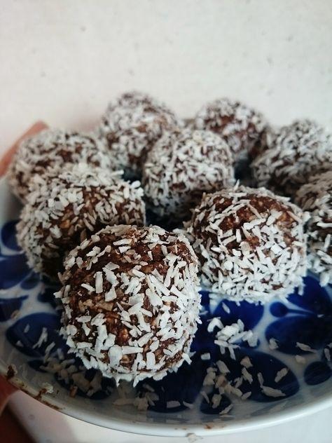nyttiga chokladbollar utan dadlar