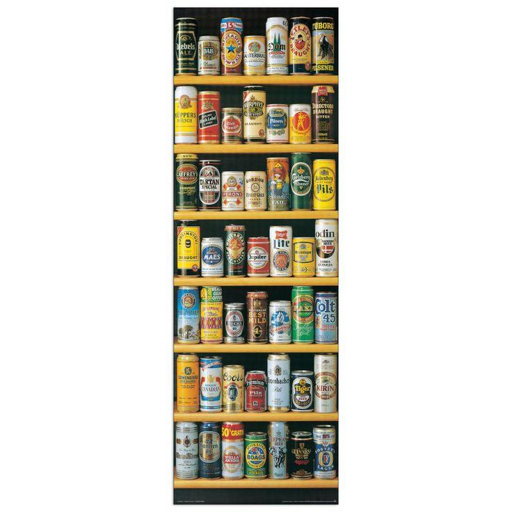 BIRRA - Lattine di birra 53x158 cm #artprints #interior #design #decorativi #decorative #art #prints  Scopri Descrizione e Prezzo http://www.artopweb.com/categorie/decorativi/EC20313