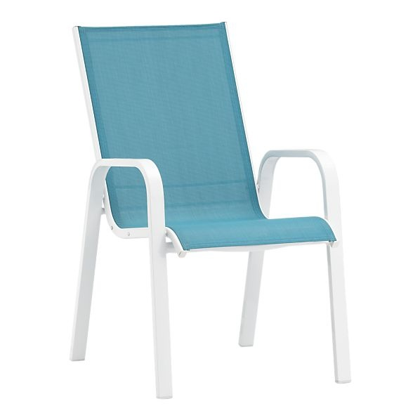 Turquoise Patio Chair from Crate & Barrel - Images About Turquoise!!! On Pinterest Turquoise