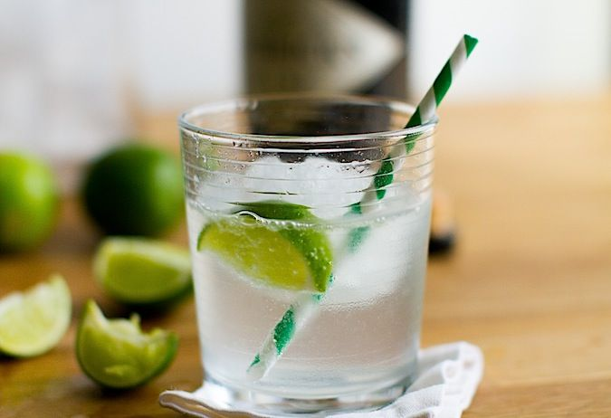 Making Tonic Ice Cubes and a Classic Gin and Tonic
