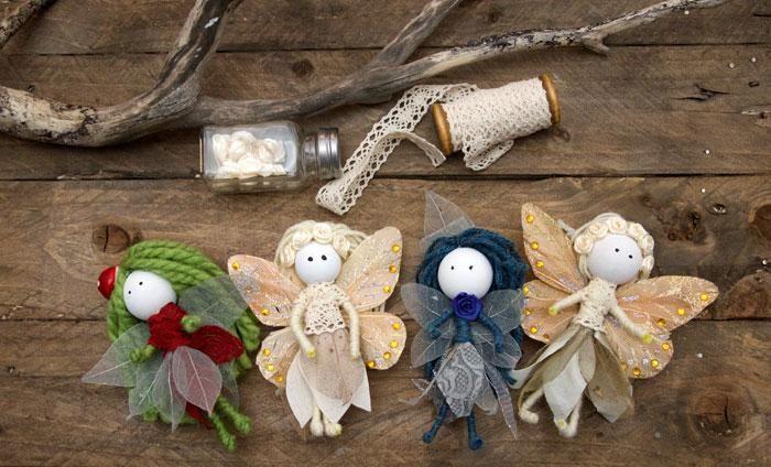 Как сделать куклу из природных материалов своими руками