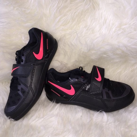 NEW NIKE ZOOM ROTATIONAL DISCUS SHOES MEN 7.5 (9) New without box pair of NIKE  Zoom Rational 5 shot-put and discus throwing shoes No refunds or exchanges  on ...