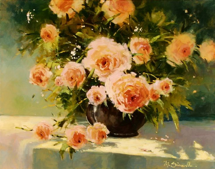 17 best images about still life art with flowers on pinterest