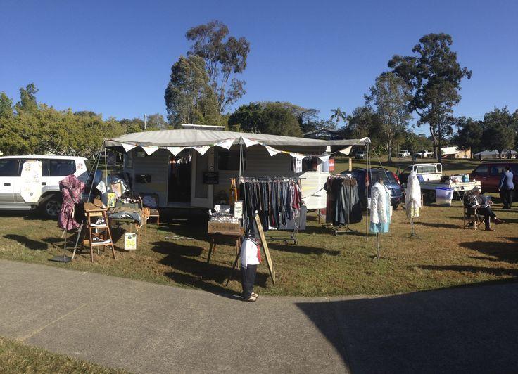 my setup, Pomona  Country Markets, Sunshine Coast, Queensland, Australia :-)