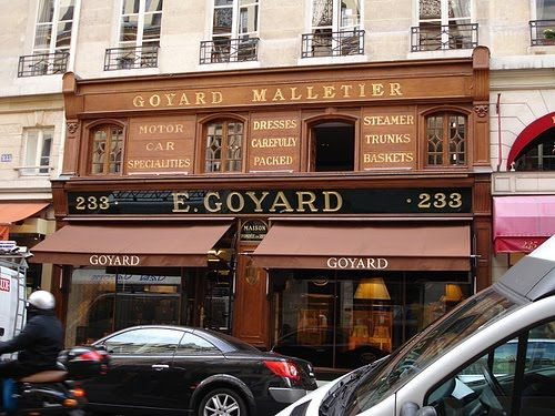 The Maison Goyard Boutique, shopping in Paris
