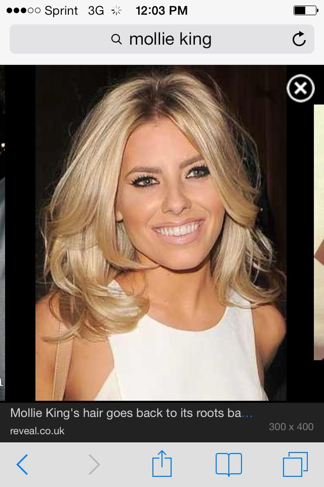 medium length haircut for 194 best mollie king images on mollie king 3277