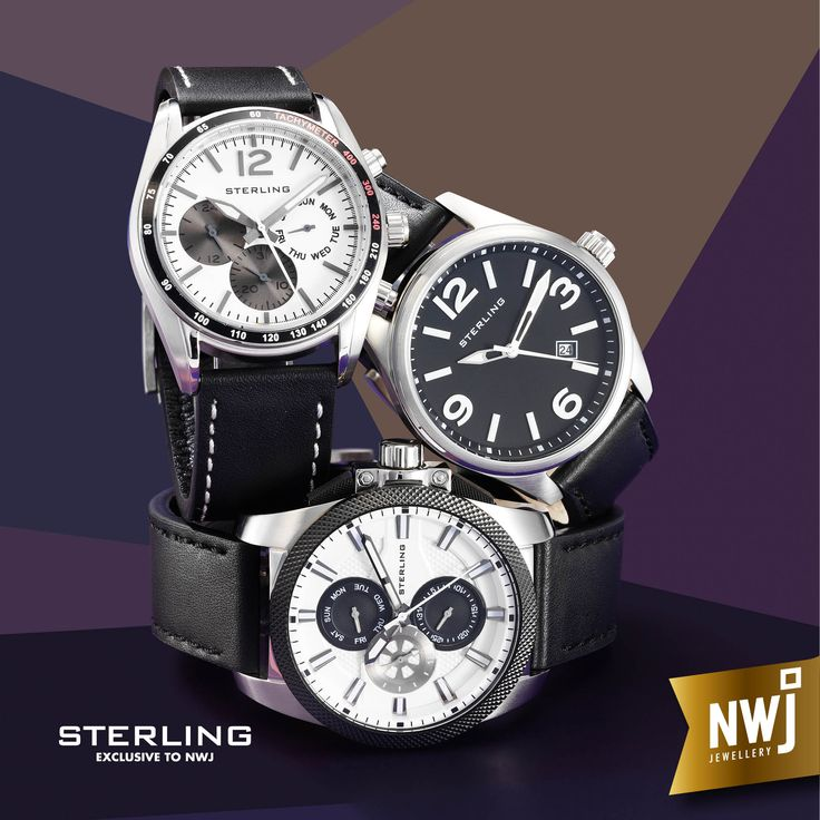 At NWJ, we've always made time for quality. That shows in our Sterling watch range which is exclusive to NWJ.