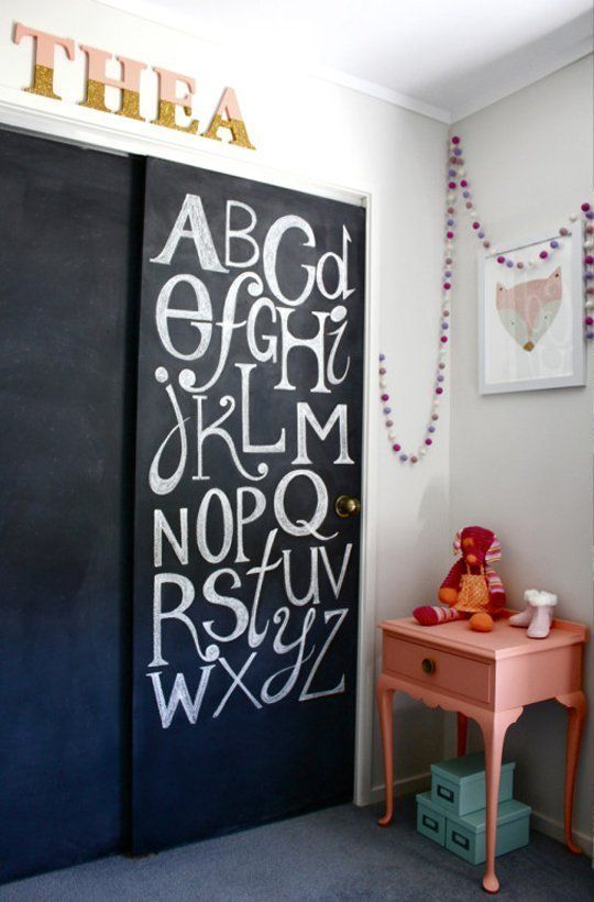 25 Creative Alphabet Wall Displays Creative Chalkboard