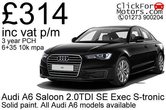 Personal Lease – Audi A6 Saloon 2.0TDI SE Executive S-Tronic. All Audi A6 models available for factory order - call for a personalised quote! East Sussex. Manufacturer Audi Model A6. AJ Palmer Consultancy Limited are authorised and regulated by the Financial Conduct Authority. | eBay!