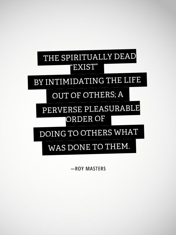 Roy Masters Quotes