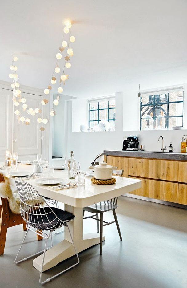 beautiful garland New Yr Interior Apartments In Scandinavian Design Scandinavian Interior Design Apartments