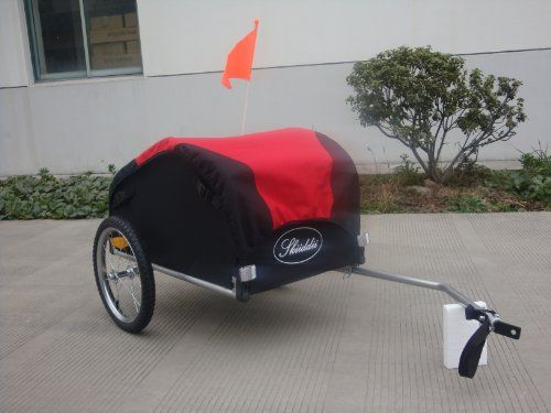 Skiiddii Red / Black Bicycle Cargo Trailer *Next Day Delivery Skiiddii http://www.amazon.co.uk/dp/B007D2QWYQ/ref=cm_sw_r_pi_dp_r9movb06SVBNW