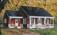 Plan de maison no. W4478 de dessinsdrummond.com