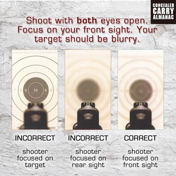 How to Shoot with Both Eyes Open - YouTube
