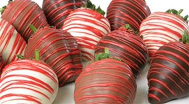 Valentines chocolate covered strawberries delivered