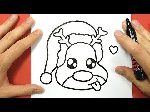 Comment Dessiner Une Boule De Noël Kawaii Youtube Desene