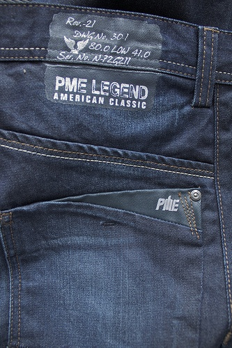 Detail of a new PME Legend Bare Metal jeans. Shop PME Legend at JeansandFashion.com #JeansandFashion