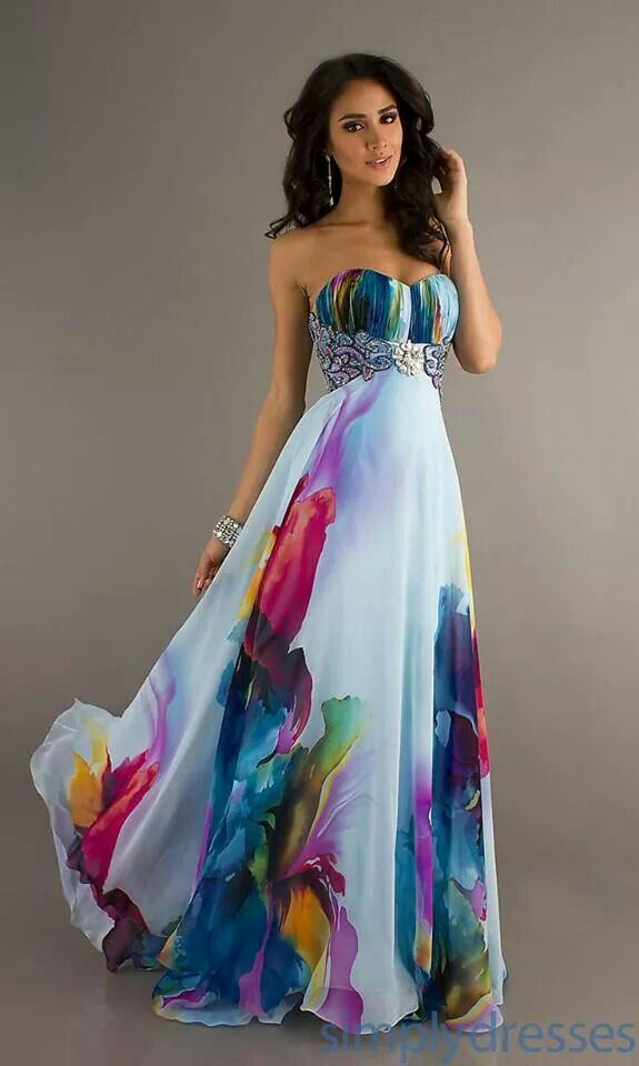 How cool would this be for a Bridesmaid dress?!