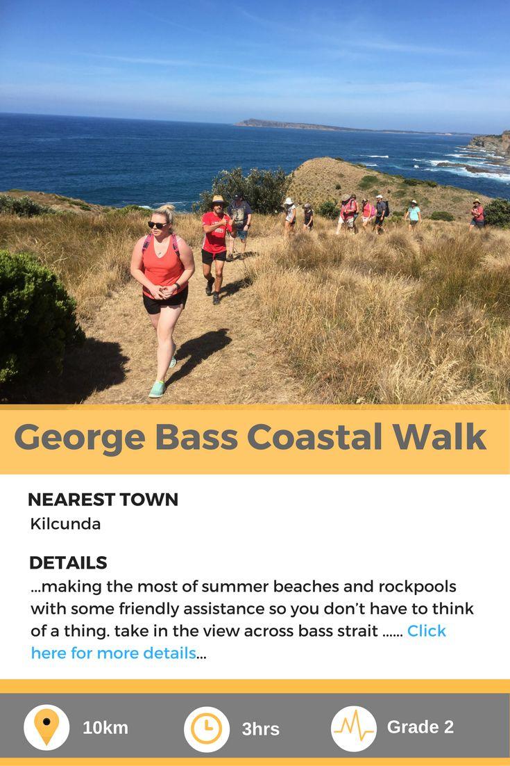 George Bass Coastal Walk, a fantastic coastal walk in Victoria, Australia.