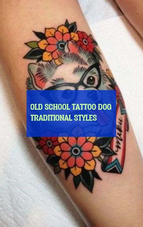 old school tattoo hund traditionelle stile old school tattoo hund traditionelle …   – Dog & Dogs & Puppies