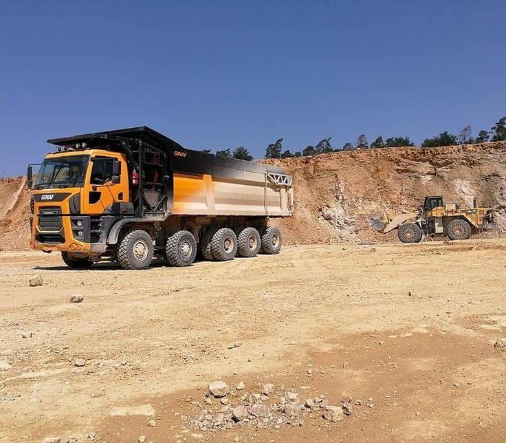 Ginaf mining truck