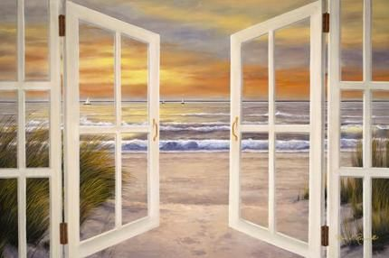 Sunset Beach Giclee Print