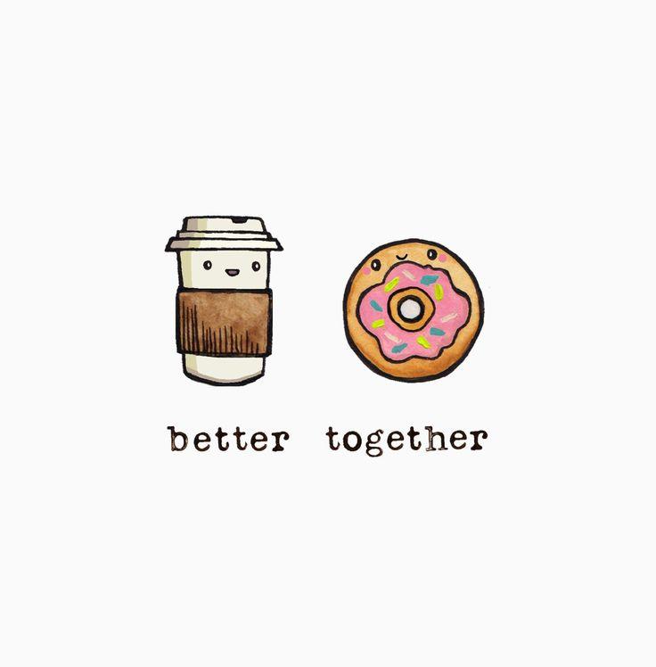 Coffee + Donut
