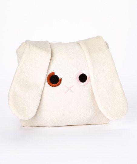 Bunny Pocket Plush Pillow