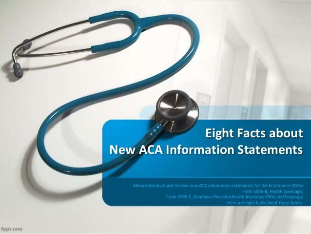 Eight facts about new aca information statements