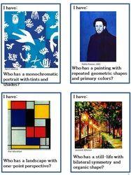 ART GAME   Scroggins Elementary Art 2011 -2012 - Home - great idea for post-pre