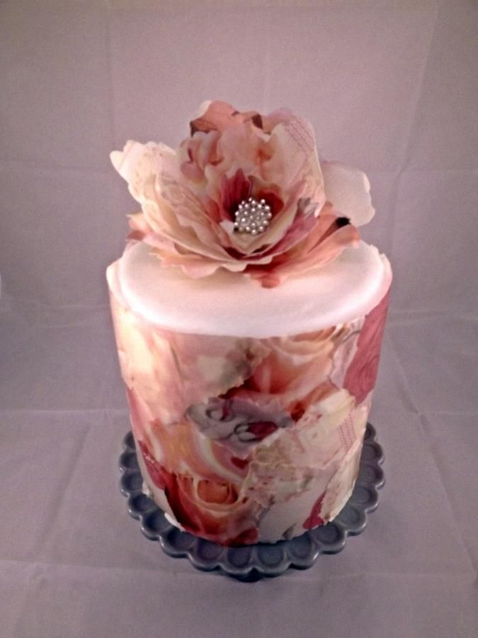 Wafer Paper Flowers For Cake Decorating