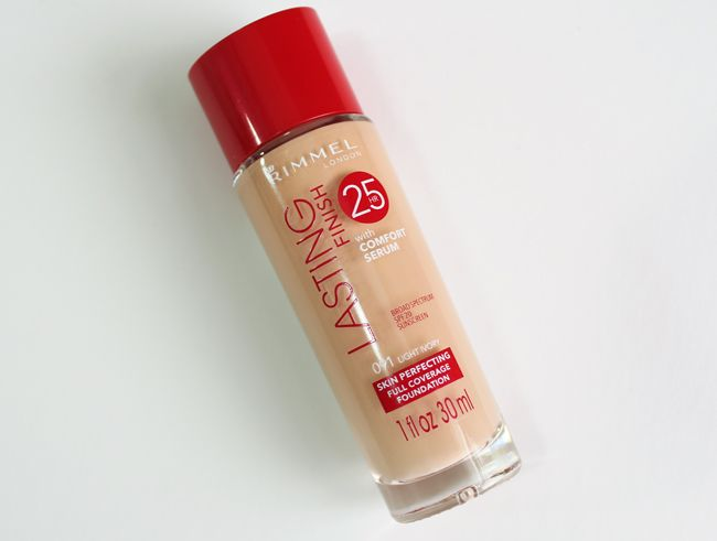 Rimmel Lasting Finish 25H Foundation with Comfort Serum Review