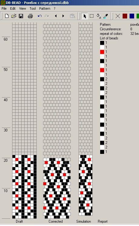 80 схем вязания шнуров из бисера на 7-8 бисерин / Вязание с бисером…