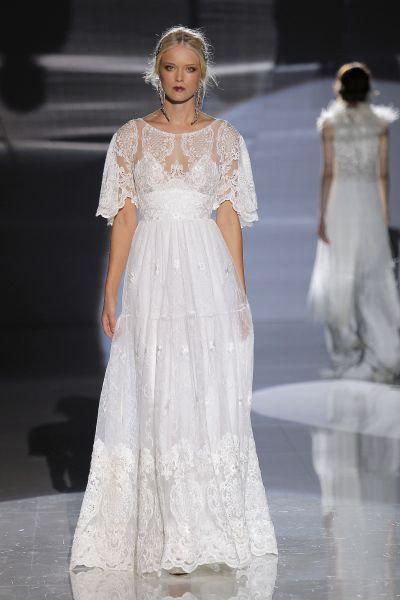 Robes de mariée coupe empire : un look des plus romantiques Image: 23