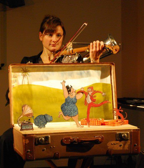 10th International Toy Theater Festival Family Programs Schurzpiepegal (Like Master, Like Dog) / Berlin, Germany This story is based ...