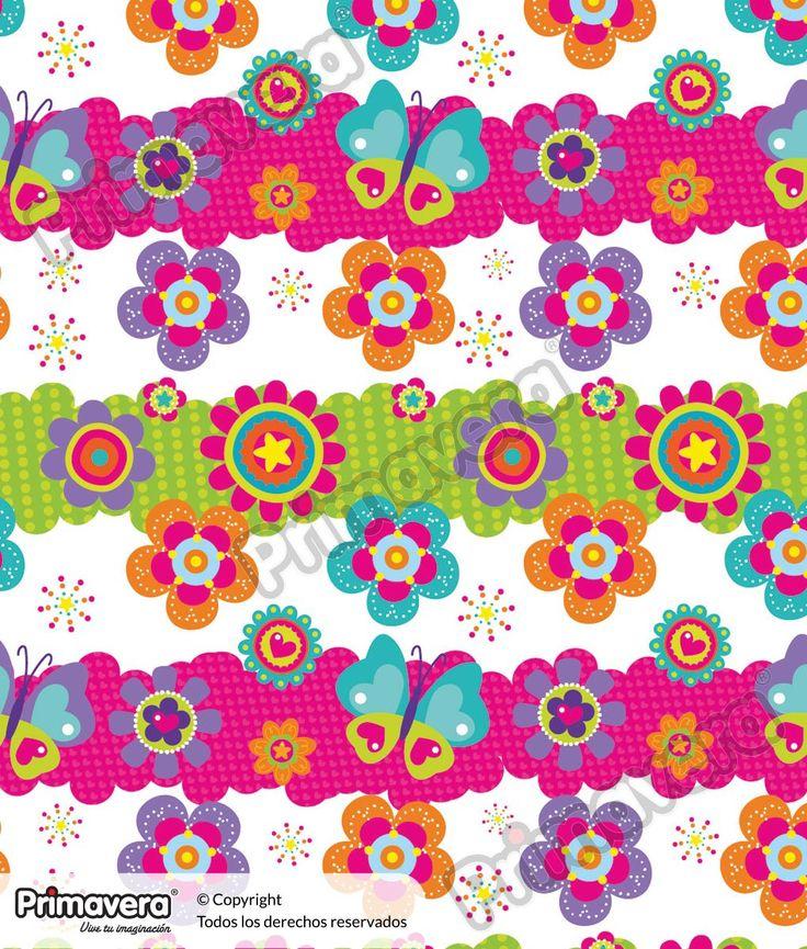 Papel Seda Estampado Flores 000019-983 http://envoltura.papelesprimavera.com/product/papel-regalo-seda-estampado-flores-000019-983/