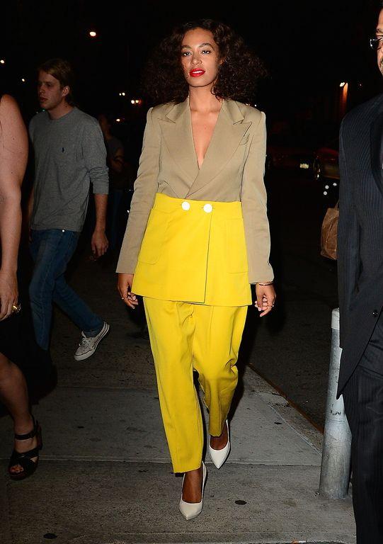 Solange Knowles à New York le 25 juin 2015