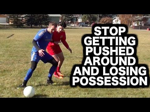 Tired of getting knocked off the ball, losing possession, and spending too much time on the ground? Solve this problem: https://www.youtube.com/watch?v=vmuJwLGBlwU