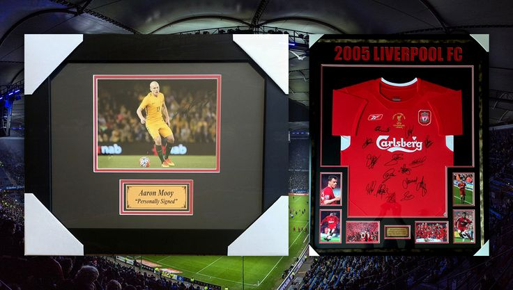 ⚽ TONIGHT AT 7:00 PM ⚽  Decorative Art & Sporting Memorabilia including personally signed photos and jerseys from Peter Brock, Lebron James, David Beckham, Craig Lowndes and more