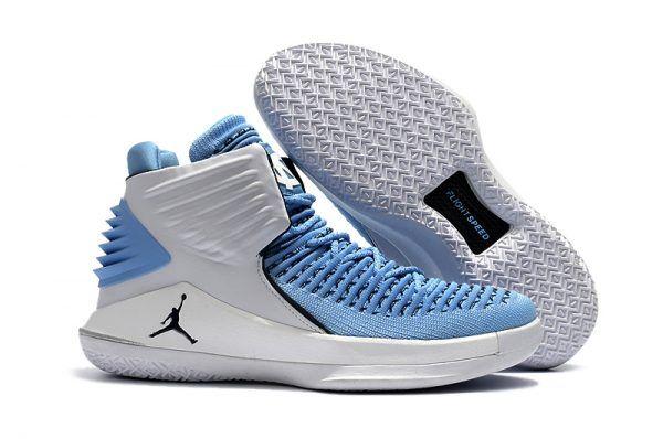 Air Jordan 32 UNC Tar Heels PEs  25d0ce160