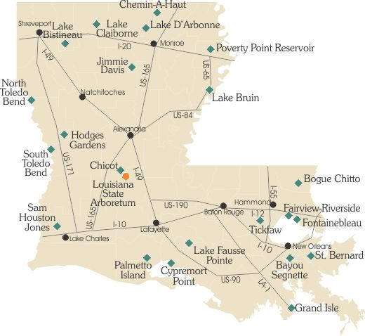 Best Louisiana My Home Images On Pinterest Louisiana - Map of state of la