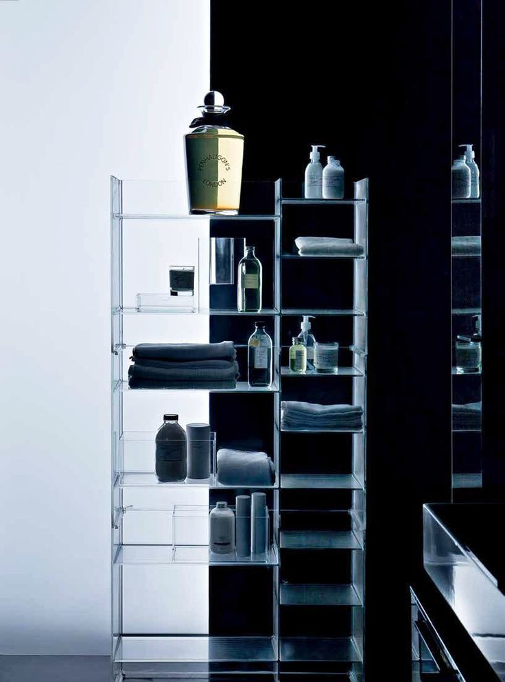 Top Ten: Ludovica and Roberto Palomba's most representative pieces: Sound-Rack Container, Kartell, 2013 @kartelldesign