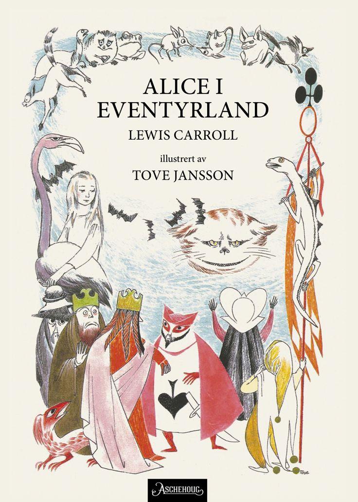 Vi har gjort et dypdykk og funnet en godt skjult skatt: Tove Janssons illustrasjoner av Lewis Carolls Alice i Eventyrland. En bildebok til glede og undring for både barn og voksne.