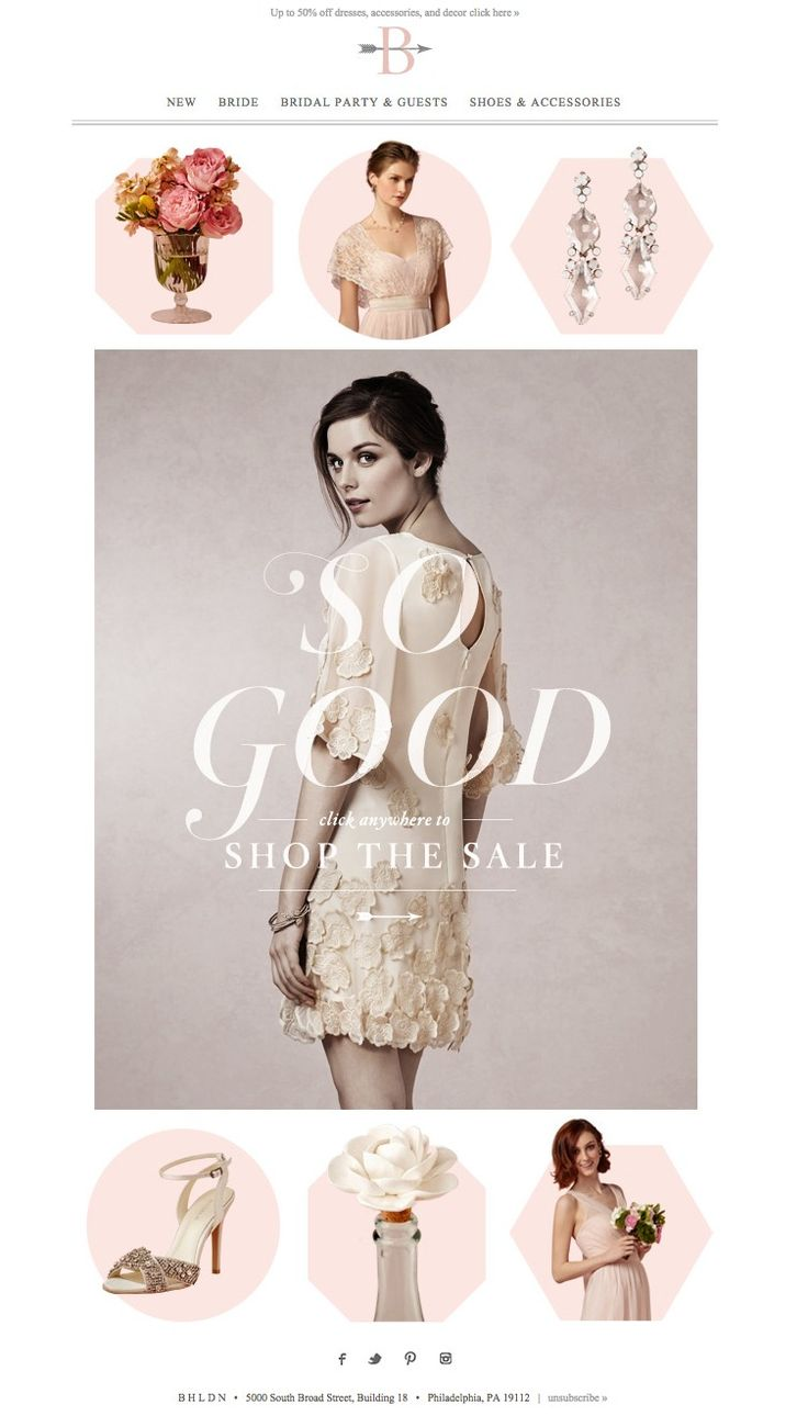#newsletter BHLDN 10.2014 BEST OF SALE! ( + Plenty of fresh cuts )