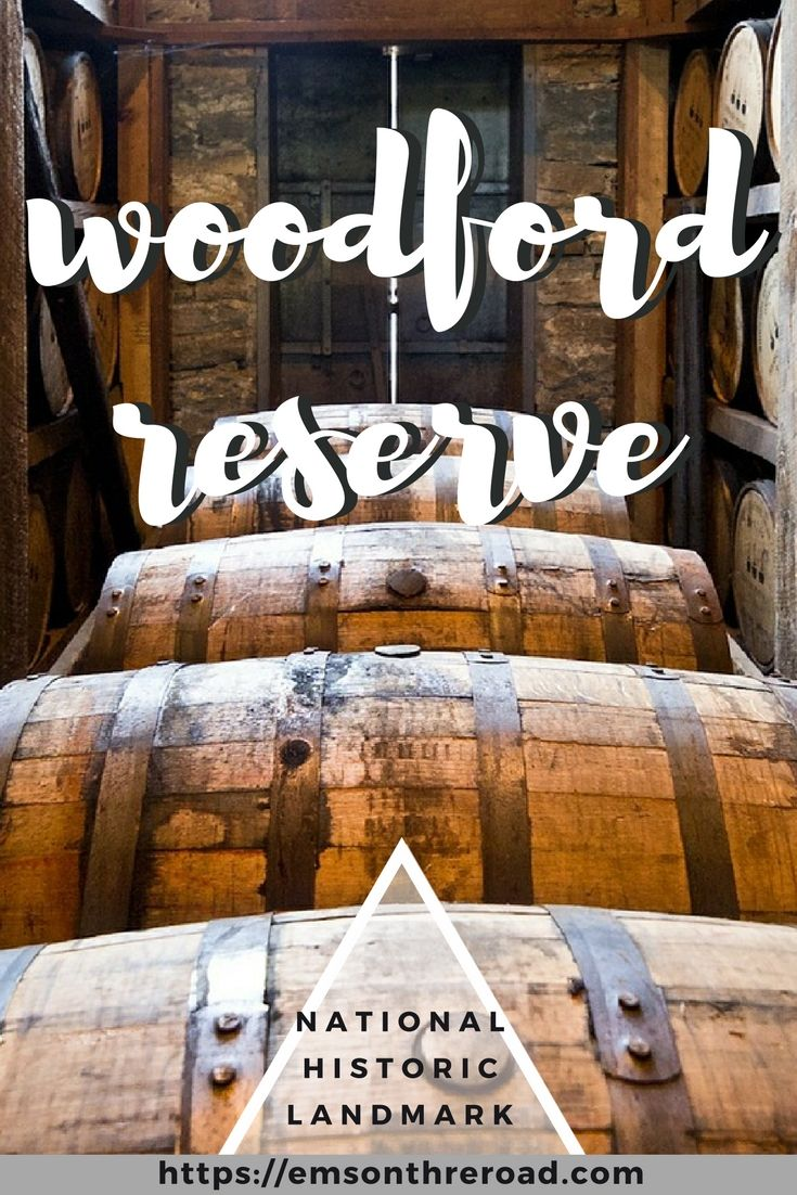 Woodford Reserve is where history meets bourbon. Check out one of the oldest bourbon distilleries in Kentucky. Booze Travel | Bourbon Road Trip | History |